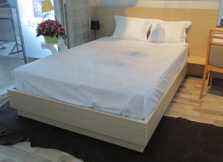 Giường ngủ kết hợp tab đầu giường