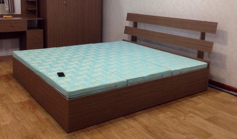 Giường ngủ đầu giường 2 thanh